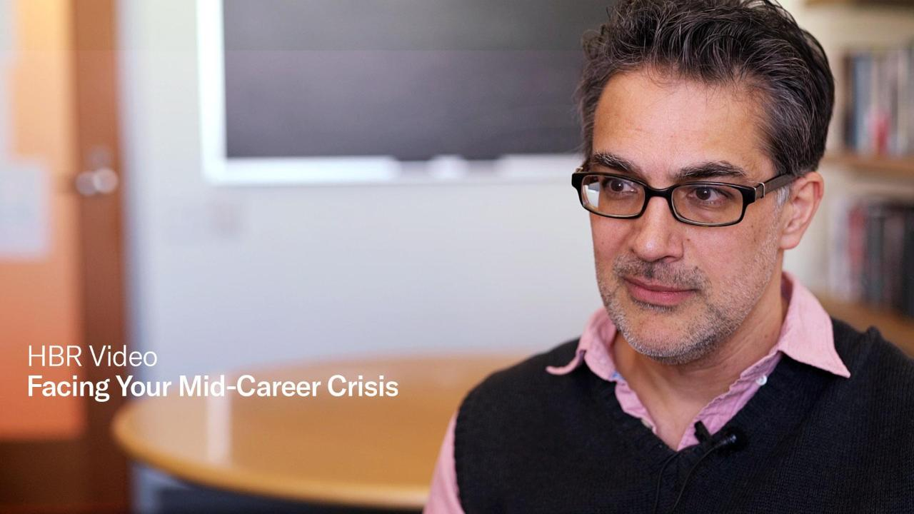 Cope or Quit? Facing a Mid-Career Crisis