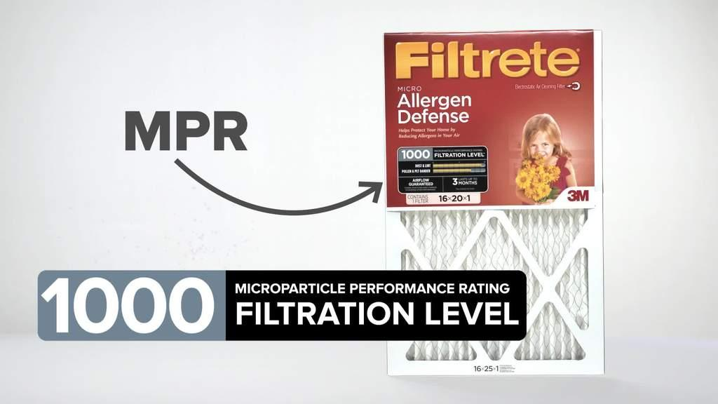 Filtrete™ Basic Air Filterrhfiltrete: 3m Filtrete Thermostat Wiring Diagram At Gmaili.net