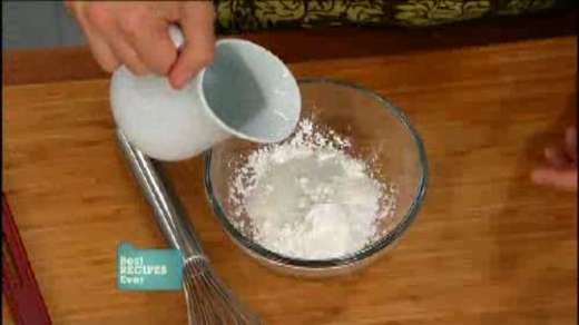 Thicken your sauces with slurry