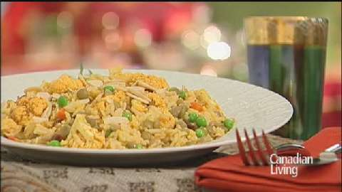 Biryani-Inspired Vegetable Rice