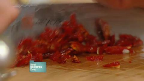 Cooking with sun dried tomatoes