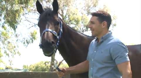 Race a horse with Billy Slater