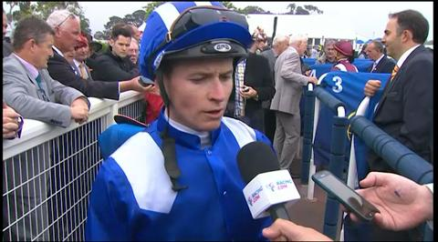 Geelong Cup winning jockey James McDonald