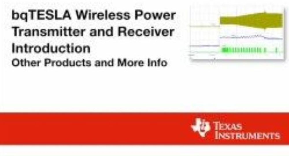 Wireless Power Transmitter and Receiver Introduction
