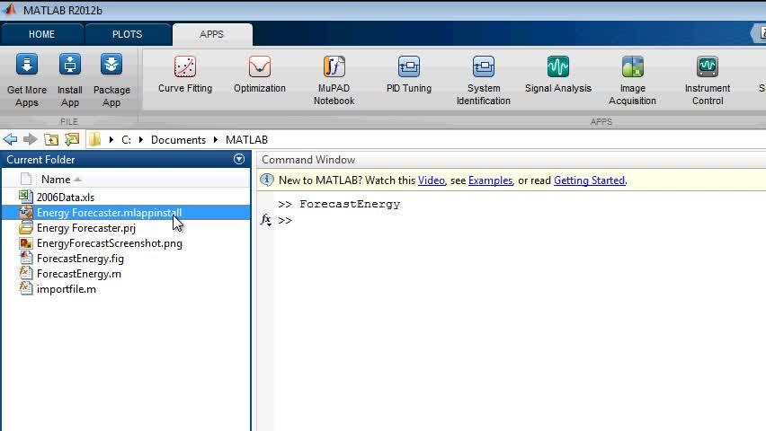 Packaging and Installing MATLAB Apps - Video - MATLAB