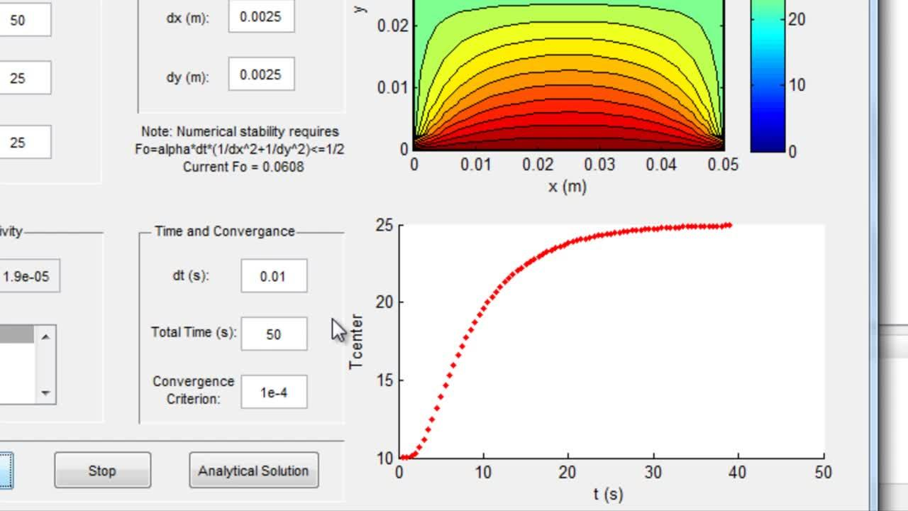 Teaching Fluid Mechanics and Heat Transfer with Interactive MATLAB