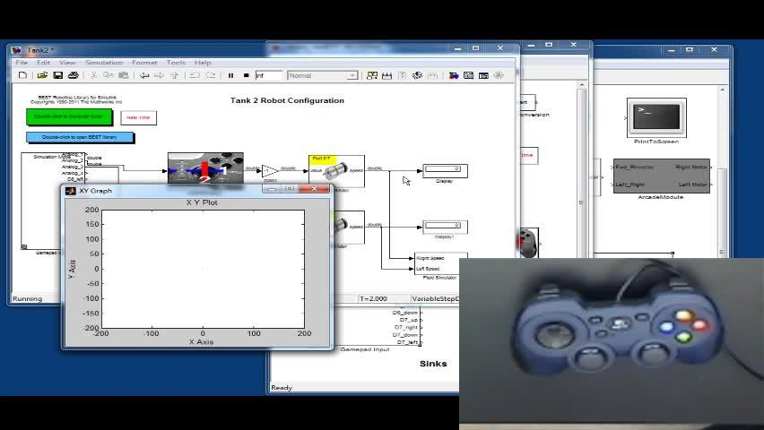 Using Gamepad/Controller for Simulation Input - Video