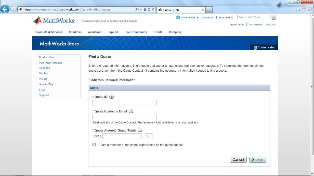 Find a Quote in MathWorks Store - Video - MATLAB