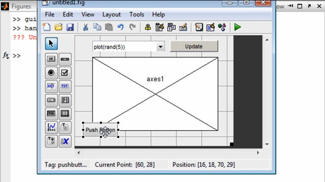 how to create a gui with guide video matlab rh mathworks com how to use axes in matlab gui how to use gui matlab
