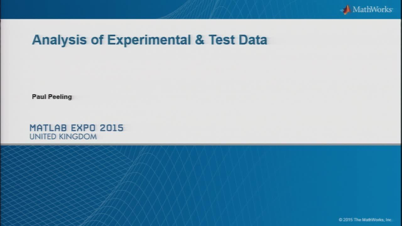 Agilent Test Equipment Overview - Video - MATLAB