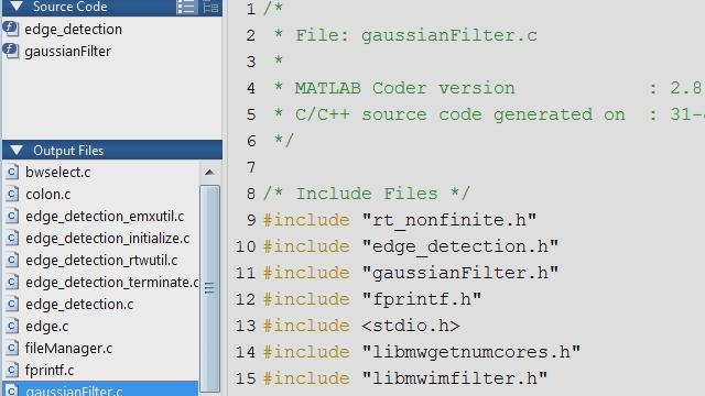 Integrating MATLAB and C/C++, Part 4: C/C++ Code Generation and