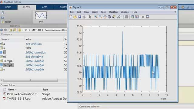 Log Temperature Data from Arduino into MATLAB Video - MATLAB