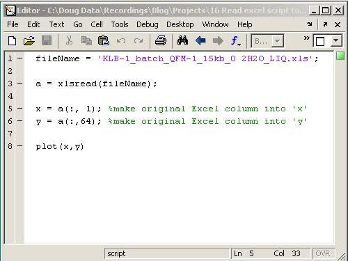 Video series: Reading Excel data into MATLAB with a GUI ...