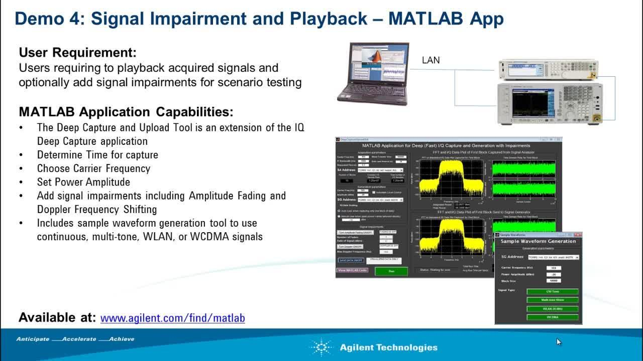 Signal Impairments and Playback: IQ Modulation with MATLAB - Video ...