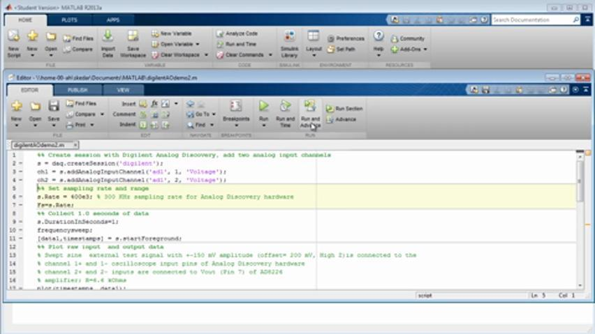 Using MATLAB Student Software in Your Courses - Video - MATLAB