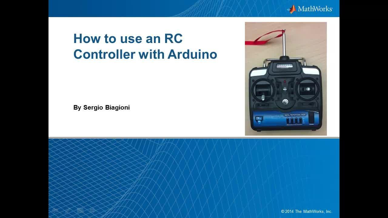 Using an RC Controller with Arduino and Simulink - Video