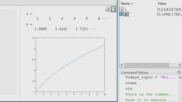 How to Write a MATLAB Program - Video - MATLAB