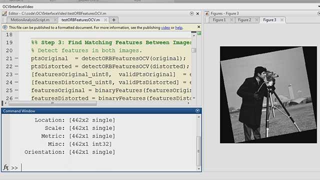 MATLAB and OpenCV - MATLAB & Simulink