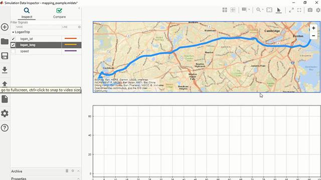 Maps in the Simulation Data Inspector Video - MATLAB & Simulink