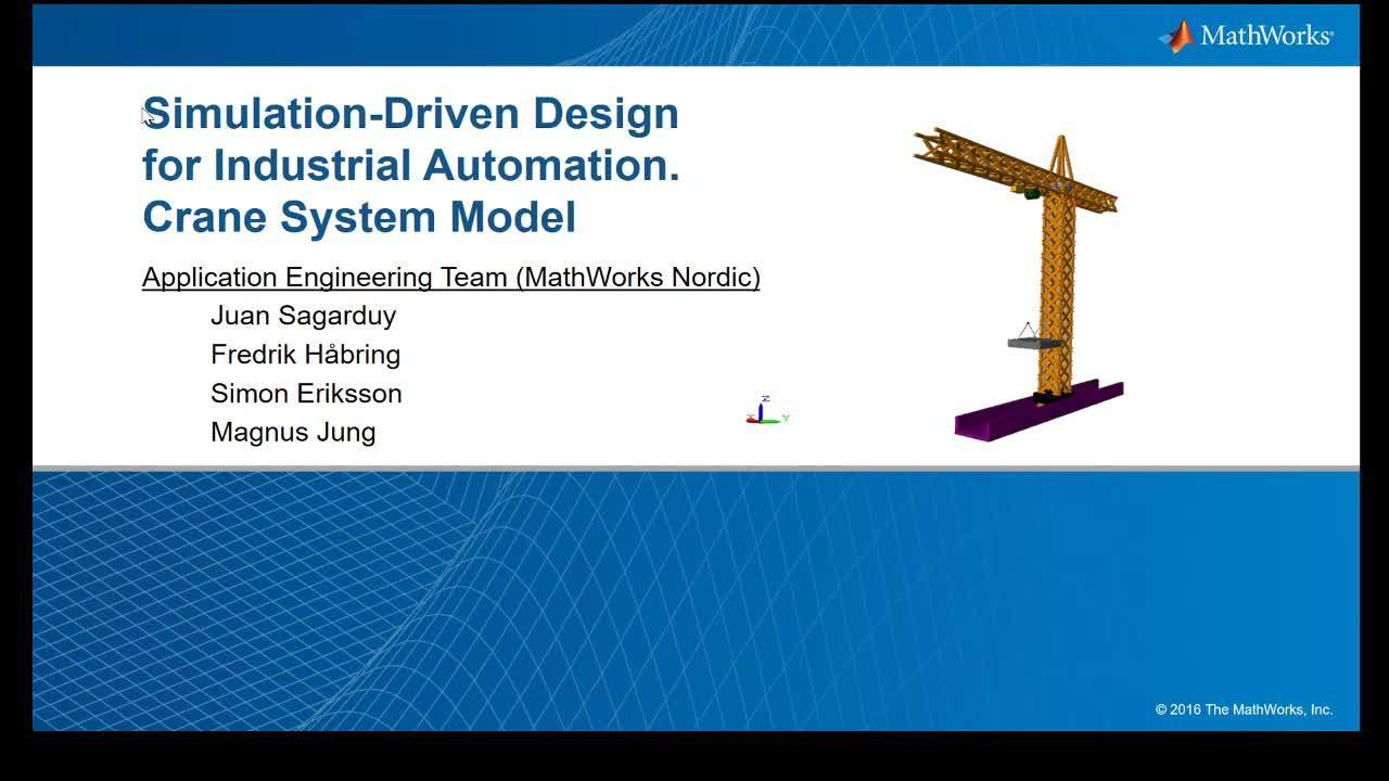 Virtual Commissioning with Simulink for Complex Mechatronic Systems
