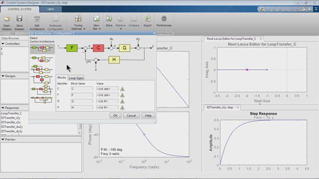 Control System Design With The Control System Designer App Video Matlab