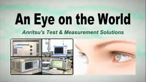 Test &Measurement Solutions - An Eye on the World