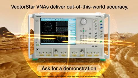 VectorStar VNAs deliver Out of this world accuracy