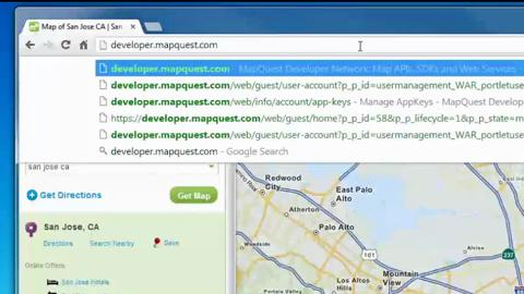 easyMap Tools – Obtaining Registration Key for MapQuest Sourced Maps