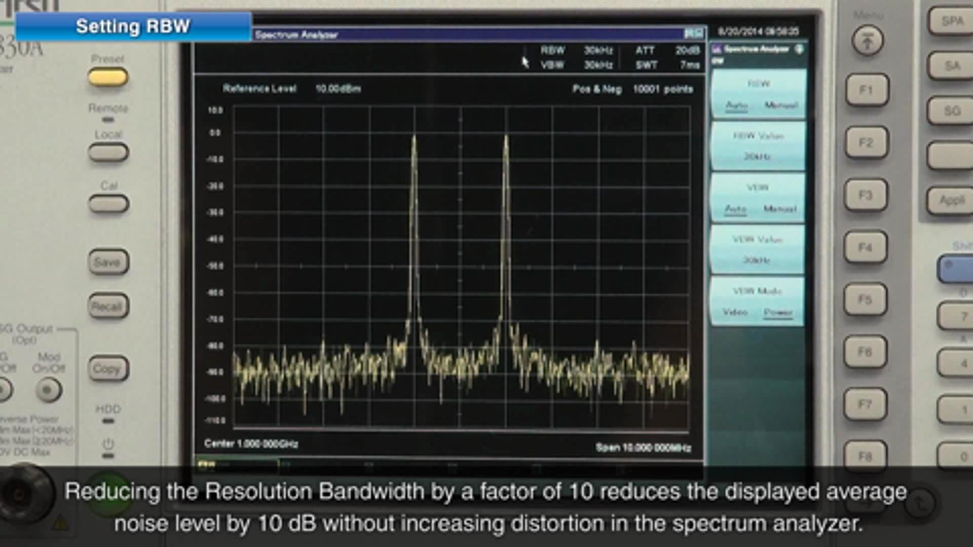 How to Measure Low-Level Signals in the Presence of High-Level Signals