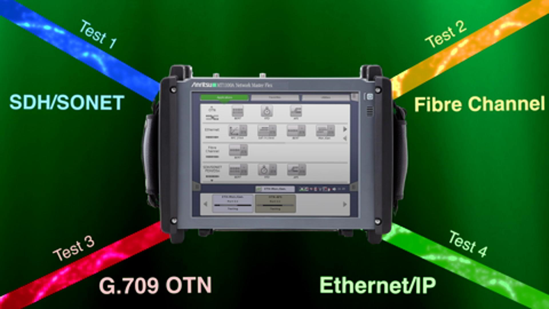 Anritsu Network Master Family Of Optical Transport Testers Introduction