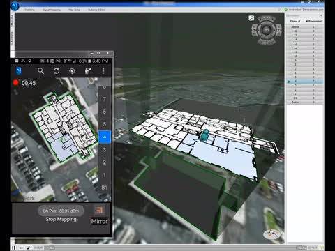 NEON Indoor Mapping with Anritsu LMR Master