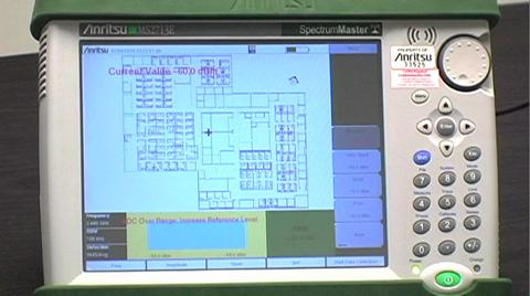 Indoor Mapping with Anritsu Handheld Analyzers