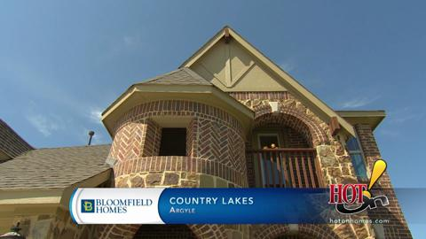 country architecture homes country lakes in argyle tx new homes floor plans by bloomfield