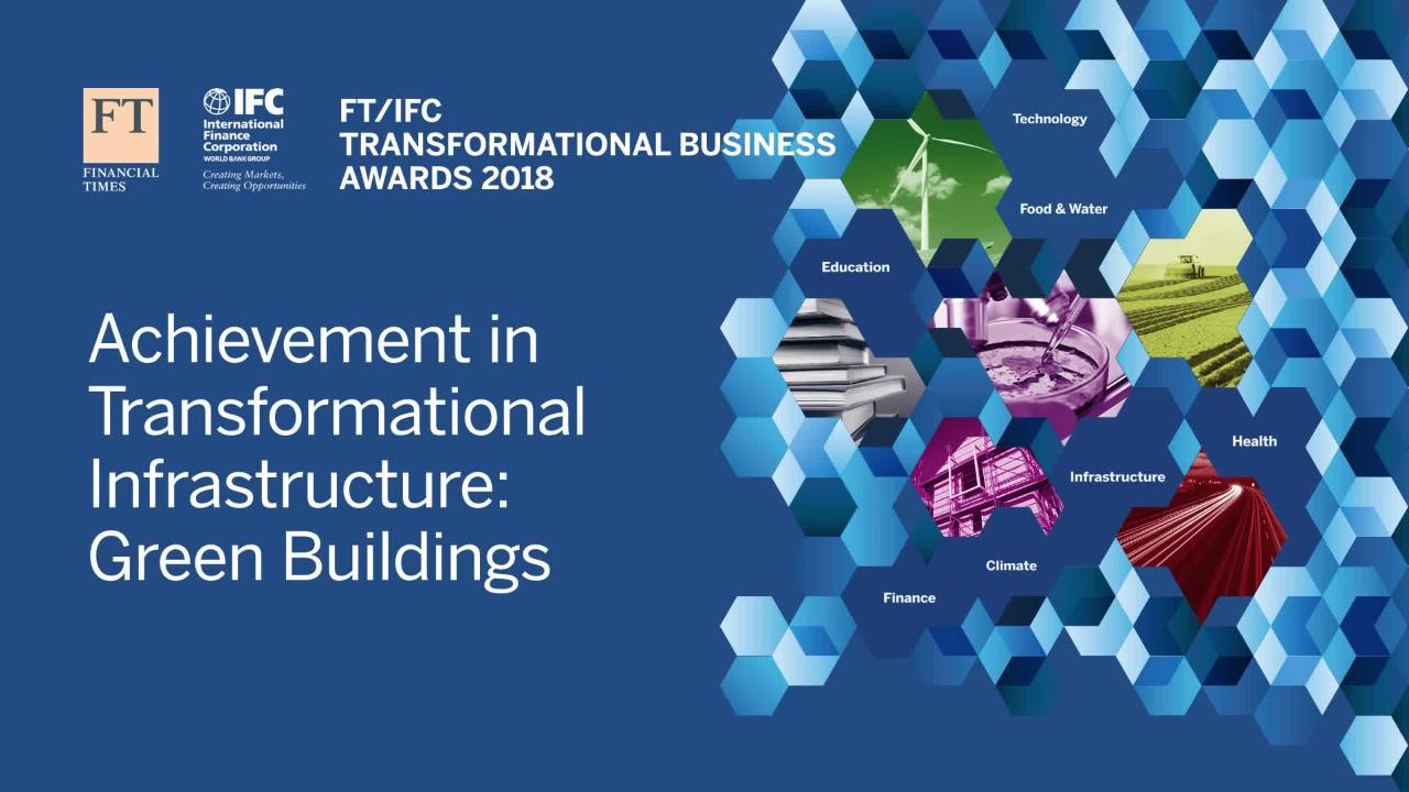 FT/IFC Transformational Business Awards 2018 organised by FT Live