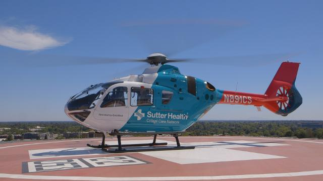 Sutter Health Launches New Air-Ground Medical Transport Network