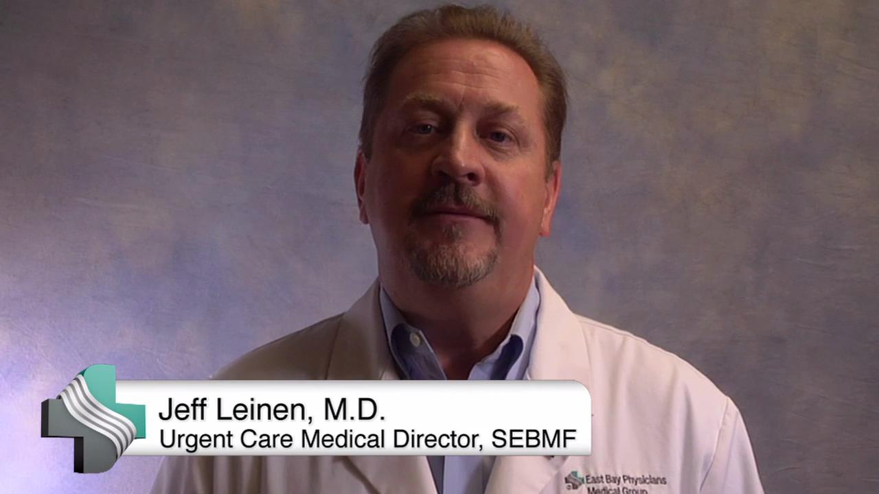 Dr. Jeffrey Leinen describes when a medical problem requires a trip to the Emergency Department and when an Urgent Care clinic could help instead.