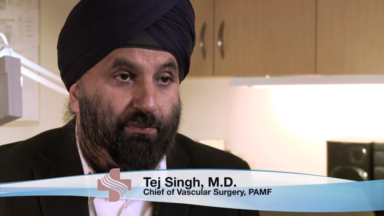 Dr. Tej Singh discusses Deep Venous Thrombosis.