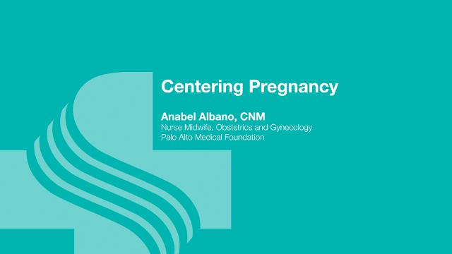 Anabel Albano, nurse midwife at Sutter Maternity and Surgery Center Santa Cruz provides a brief introduction to the Centering Pregnancy classes offered at Sutter.